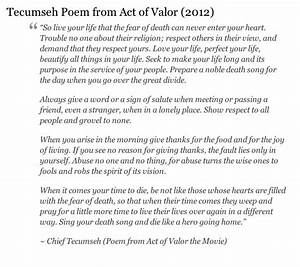 Poem from Act of Valor | Act Of Valor, Poem and Google Search