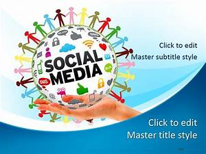 free social media ppt template With social media powerpoint template free download