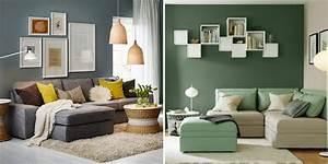 Deco Ikea Salon : coin canap 6 id es pour d corer l 39 espace au dessus marie claire ~ Teatrodelosmanantiales.com Idées de Décoration