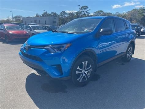 The toyota rav4 is a great small suv for irving drivers who need some extra space and power when running around town. Used 2018 Toyota RAV4 For Sale in Vero Beach | Near Ft ...