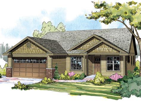 Craftsman House Plan Single Story Craftsman House Plans