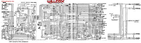 Interior Light Wiring Diagram For 1993 Corvette by 1967 Corvette Wiring Diagram Tracer Schematic Willcox