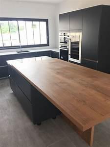Plan De Travail Dekton : la cuisine avec son plan de travail dekton autour de l ~ Melissatoandfro.com Idées de Décoration
