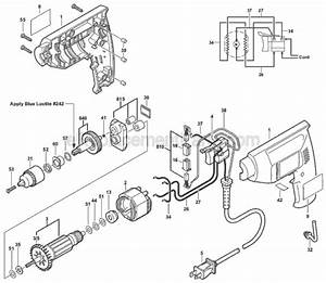 Skil 6225 Parts List And Diagram
