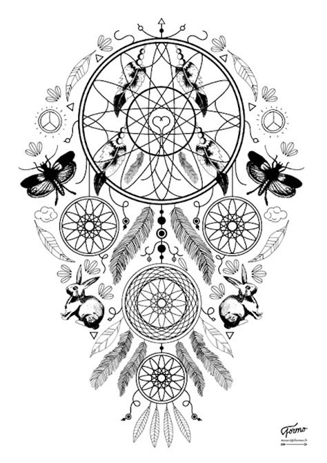 1000+ images about Coloriage adulte - Art Therapy - Color Therapy on Pinterest | Dream catcher