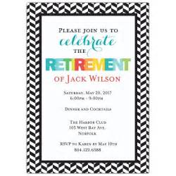 save the date coasters modern colorful retirement party invitations paperstyle