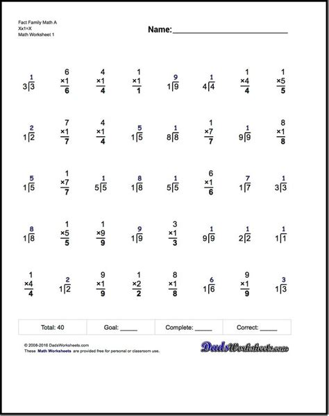 17 Best Ideas About Multiplication Test On Pinterest  Multiplication Timed Test, Multiplication