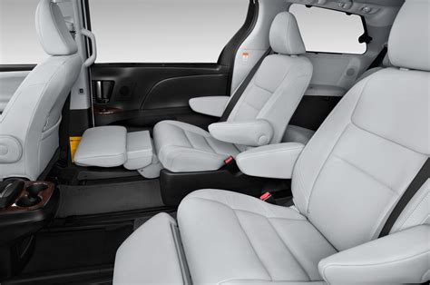 Ford Explorer With 2nd Row Captain Chairs by 2015 Toyota Sienna First Look Photo Gallery Motor Trend