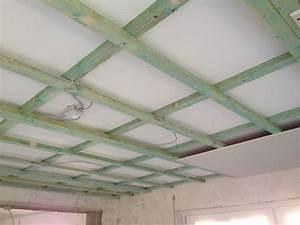 Decke Abhängen Anleitung Holz : decke abh ngen mit dachlatten gipskarton so wird es gemacht ~ Frokenaadalensverden.com Haus und Dekorationen