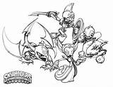 Skylanders Undead Drawing Element Coloring Pages Crabfu Select Save Right Ni sketch template