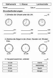 Zeitspannen Berechnen Grundschule : schulmaterial arbeitsbl tter f r die unterstufe ~ Themetempest.com Abrechnung