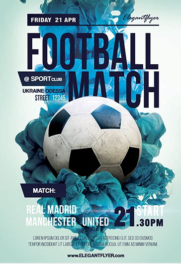 Best Football Flyer Ideas And Images On Bing Find What You Ll Love