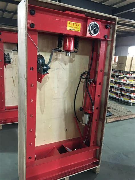 ton air hydraulic shop press uncle wieners wholesale