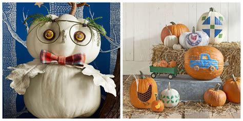 creative pumpkin decorating ideas easy halloween
