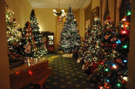 christmas tree walk woodstock illinois