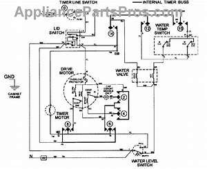 Parts For Maytag Lat9356aae  Wiring Information Parts