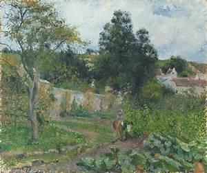 File:Camille Pissarro Jardin potager à l Ermitage Pontoise jpg Wikimedia Commons