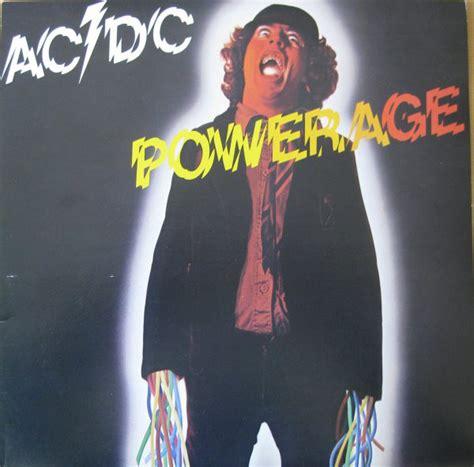 acdc powerage  vinyl discogs