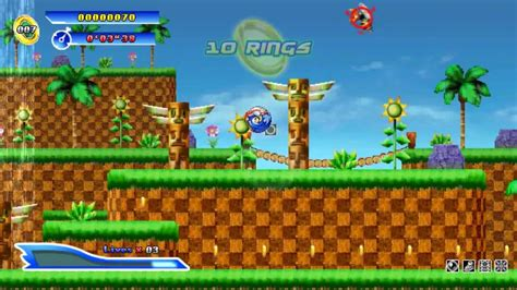 sonic fan games online salom adventure sonic gameplay preview sonic fan game