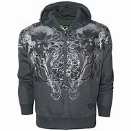 Skull Zip Up Hoodies for Men