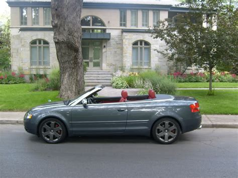 2006 Audi S4 Cabriolet Pictures Information And Specs