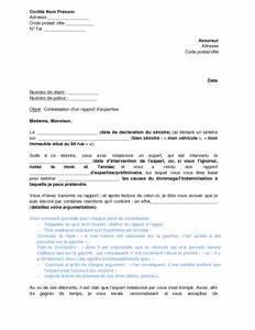 Expert Assurance Auto : lettre de contestation d 39 un rapport d 39 expertise de l 39 assurance mod le de lettre gratuit ~ Gottalentnigeria.com Avis de Voitures