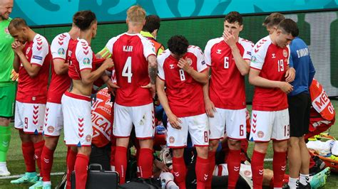 denmarks christian eriksen collapses  euro  match  finalnd