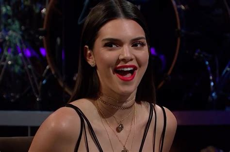 Watch Kendall Jenner Eat Gross Foods on 'The Late Late ...