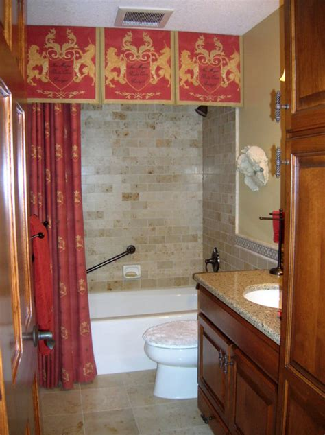 shower curtain with valance