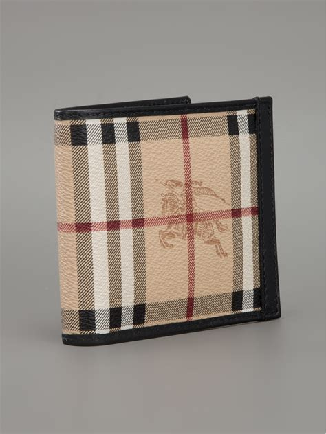 lyst burberry haymarket wallet  brown  men