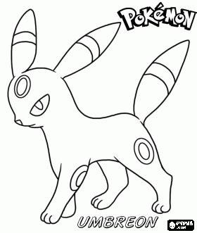 Dibujos para colorear de Pokémon Ash Dibujos para