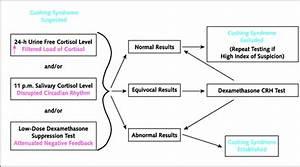 dexamethasone test cushing syndrome flow chart ...