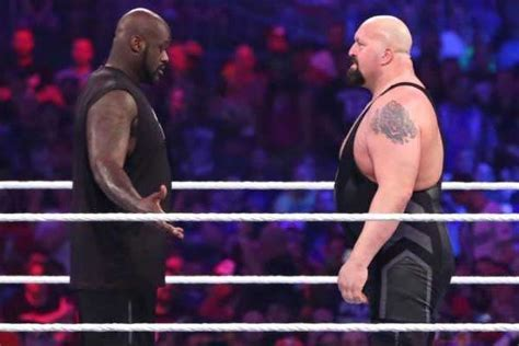 Wwe News Big Show Talks About Facing Shaquille O Neal At Wrestlemania