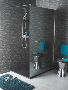 Modele De Douche Italienne : mod le salle de bain avec douche l 39 italienne salle de ~ Dailycaller-alerts.com Idées de Décoration