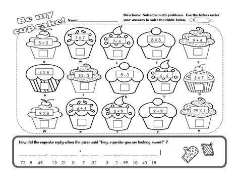 fun math  worksheets