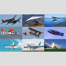 Air Vehicles Names And Sounds For Kids Learn Aircraft & Air Transport Vehicles For Children