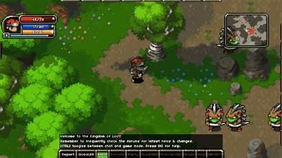 Kingdom Loot Pixel 2d Mmo Jrpg Pc