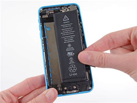 replace battery iphone 5c iphone 5c battery replacement ifixit