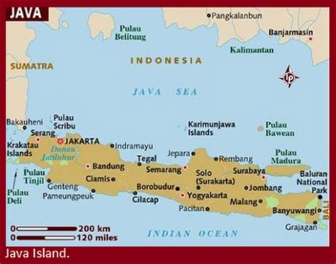 map  east java map  east java