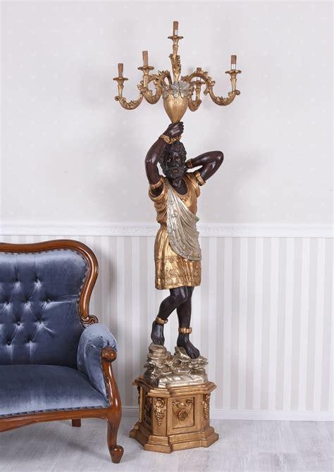 negri illuminazioni lada negri lada a stelo veneziano servo barocco