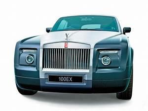2004 Rolls Royce 100EX Concept Front Rendering