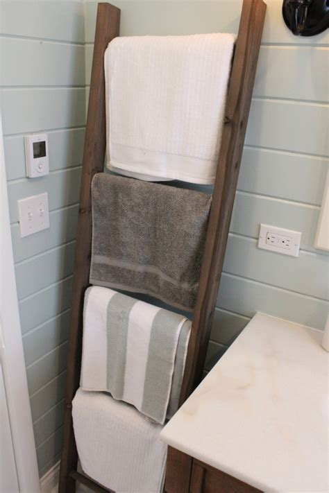 awesome diy towel holders  spruce   bath