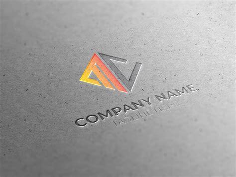 initial mc letter logo design