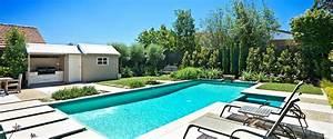 Sparkling Fresh Garden Pool Stock Photo Image 3500960 One