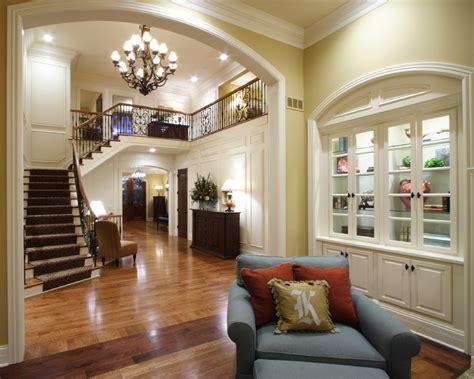foyer   custom house plans  studer residential designs
