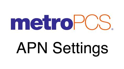 metro pcs apn iphone metropcs apn settings wirefly