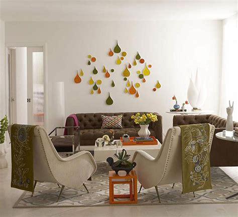 retro decor orange sparks in retro decor inmod style