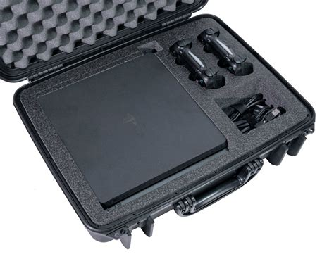 Playstation 4 Ps4 Slim Heavy Duty Travel Case Gaming