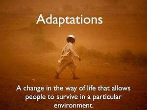 Human Adaptations