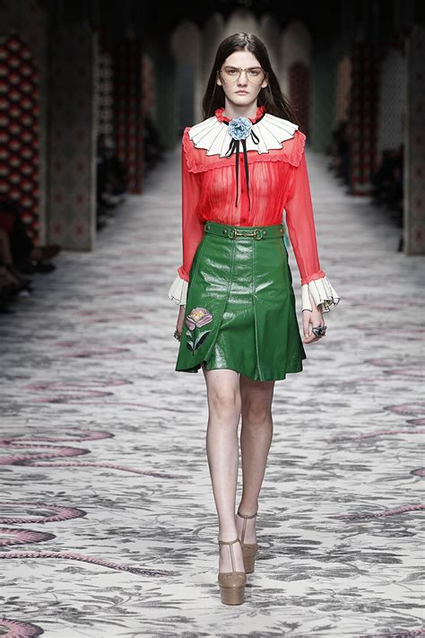gucci s ss16 fashion show marie claire malaysia